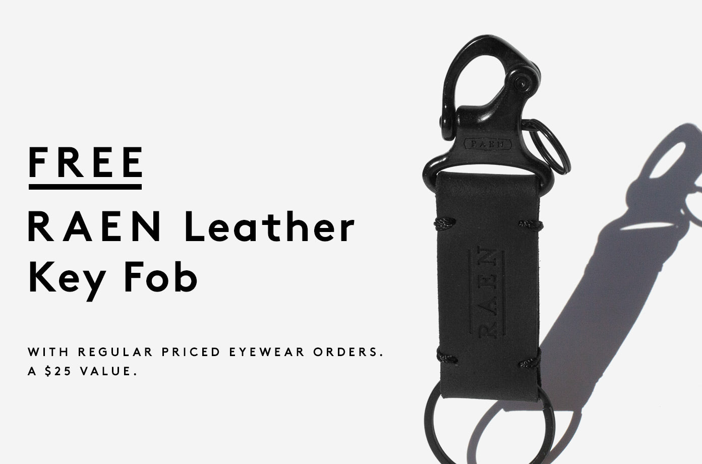 FREE RAEN Leather Key Fob