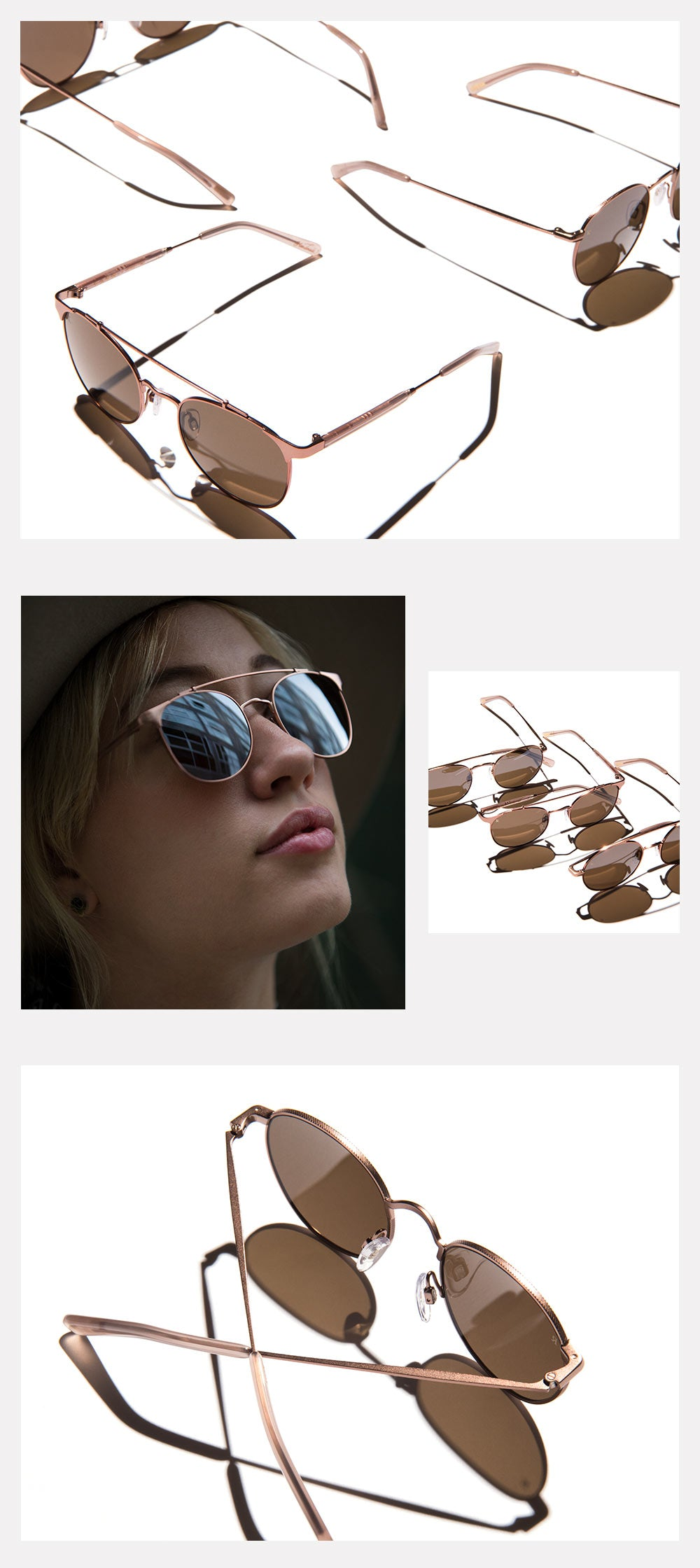Rose Gold Sunglasses Now Available!