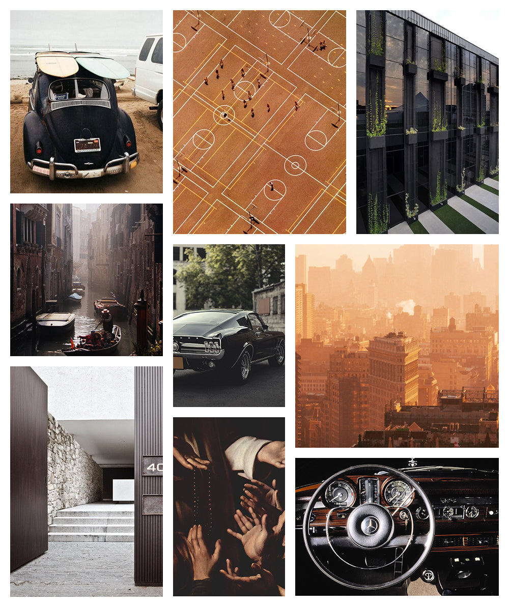 Color Inspiration Driving Black and Tan