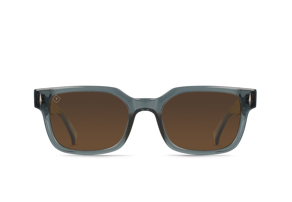 Slate Crystal / Brown Polarized