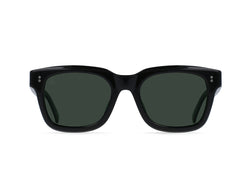 Crystal Black / Green Polarized / 52