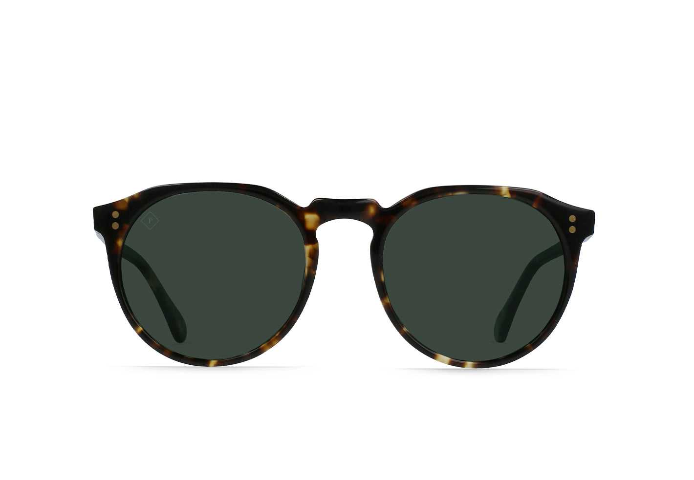 Brindle Tortoise / Green Polarized
