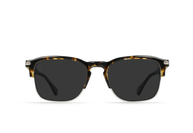 Brindle Tortoise + Light Gunmetal / Smoke Polarized