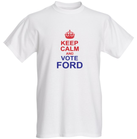 Where to buy vote for doug ford shirts online