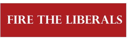 Buy a Fire The Liberals Bumper Sticker Online