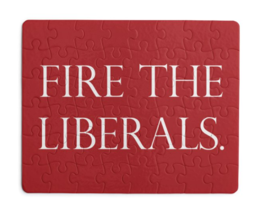 Fire The Liberals - Puzzle