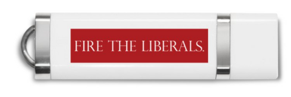 8GB USB Stick - Fire The Liberals