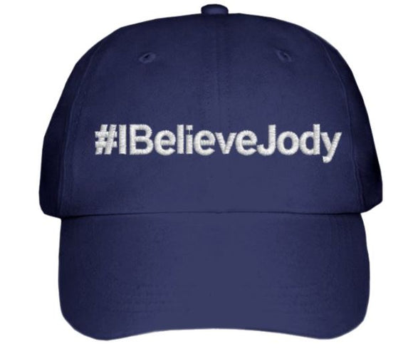 #IBelieveJody Embroidered Hat
