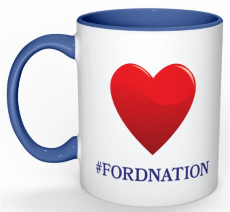 Where to buy Doug Ford FordNation Merchandise online