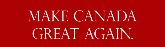 Buy a Make Canada Great Again Bumper Sticker Online