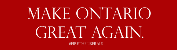 Make Ontario Great Again - Bumper Stickers