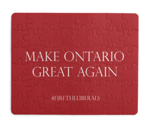 Make Ontario Great Again - Puzzle