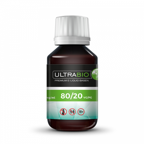 Ultra Bio Base VG80%/ PG20% (500ml) 18mg nicotine