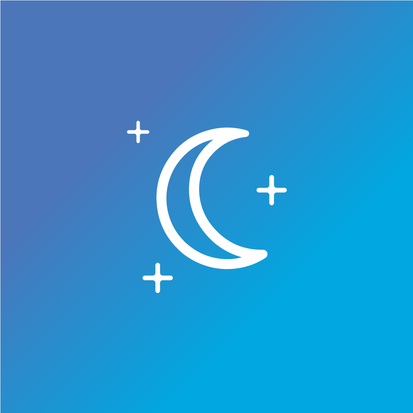 healthy sleep icon
