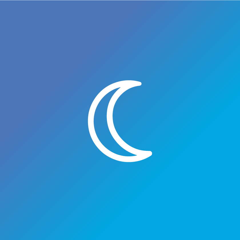 Supports healthy sleep icon