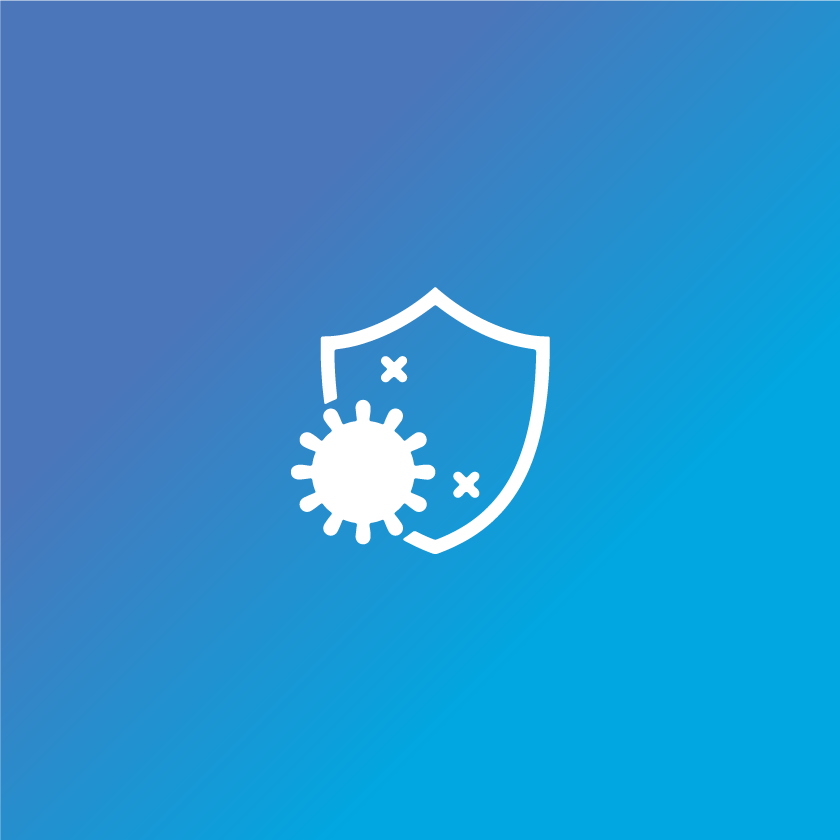 Healthy immune system icon