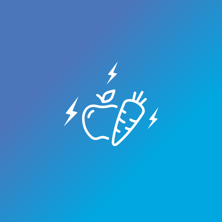 Provides nutritional support icon