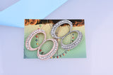 Scarf Clip Brooch, high quality crystal design for scarves.