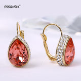 Bohemian jewelry for Women Drop Earrings Fashion Accessories Crystal Dangle Earrings Jewelry Women Gift oorbellen(E0178)