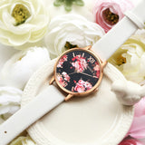 High Quality Fashion Leather Strap Rose Gold Casual Dress Love Heart Quartz - 9 colors