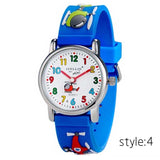 Kids Watches Silicone Watchband  Boys and Girls Quartz Clock watch - 8 colors