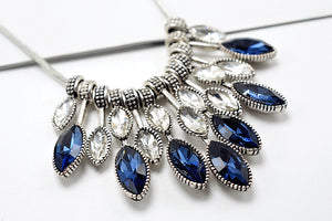 Statement Necklace & Pendant Crystal Maxi Necklace Fashion Jewelry - c-colors
