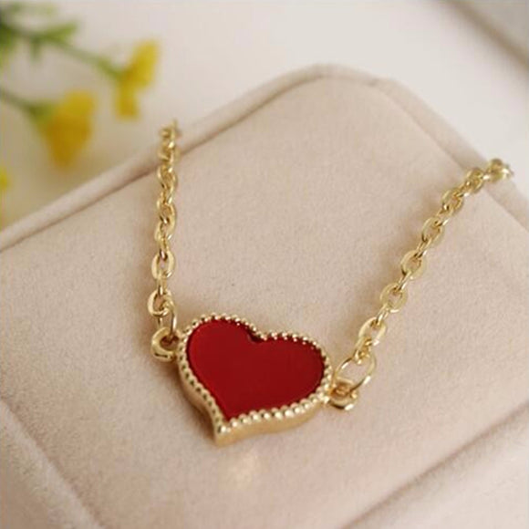 Fashion Love Heart  Gold Color Bracelets