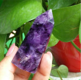 TOP!!! 20-28g natural dream amethyst quartz crystal wand point healing as gift