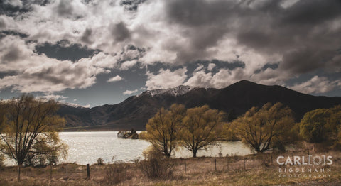 Mountain Range, Central Otago New Zealand