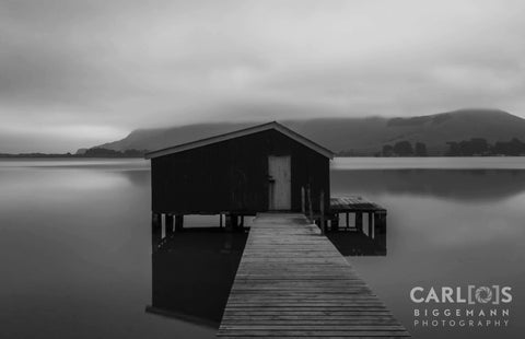 The Boat-Shed Within The Mist