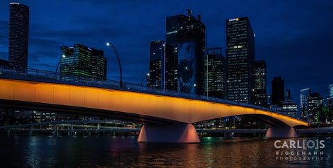 Victoria Bridge Brisbane, Australia