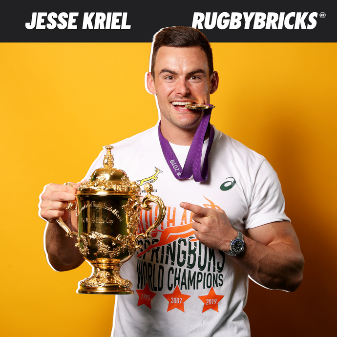 Rugby Bricks Podcast Episode 27 Show Notes: Jesse Kriel - Bringing A Nation Together Through Rugby & Winning A Rugby World Cup