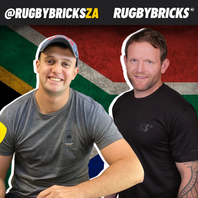 Rugby Bricks Podcast Episode 43 Show Notes: Gareth Jenkinson | Interviewing Siya Kolisi After The 2019 World Cup Final & Revitalising Rugby In South Africa