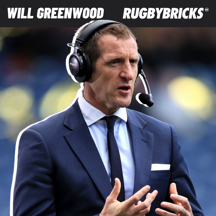 Rugby Bricks Podcast Episode 37 Show Notes: Will Greenwood | Winning The 2003 World Cup With Jonny Wilkinson & Owning Your Role On The Pitch