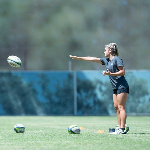 Rugby Passing Tricep Rotation Skills