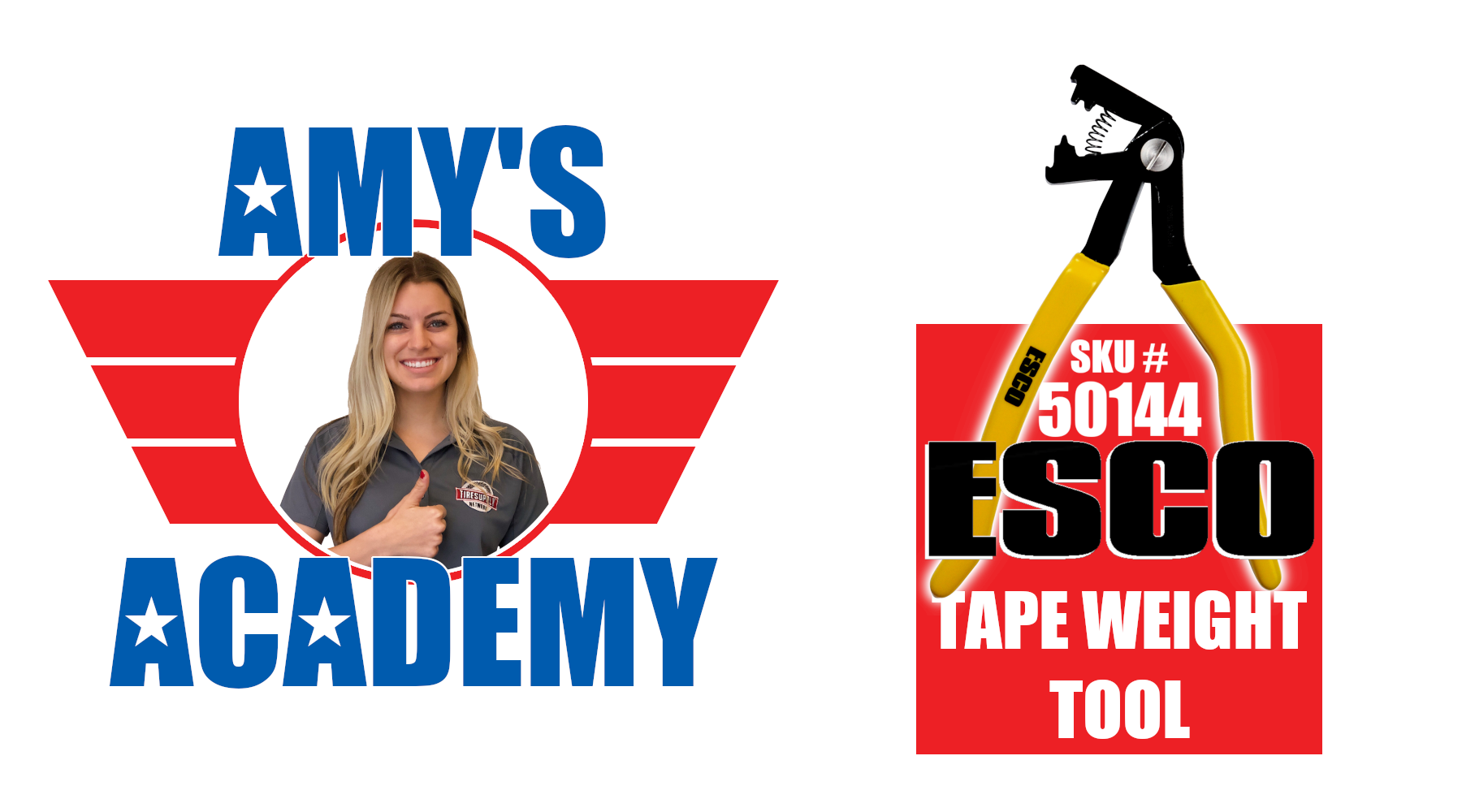 Amy's Academy | Using the ESCO Tape Weight Removing Tool (50144)