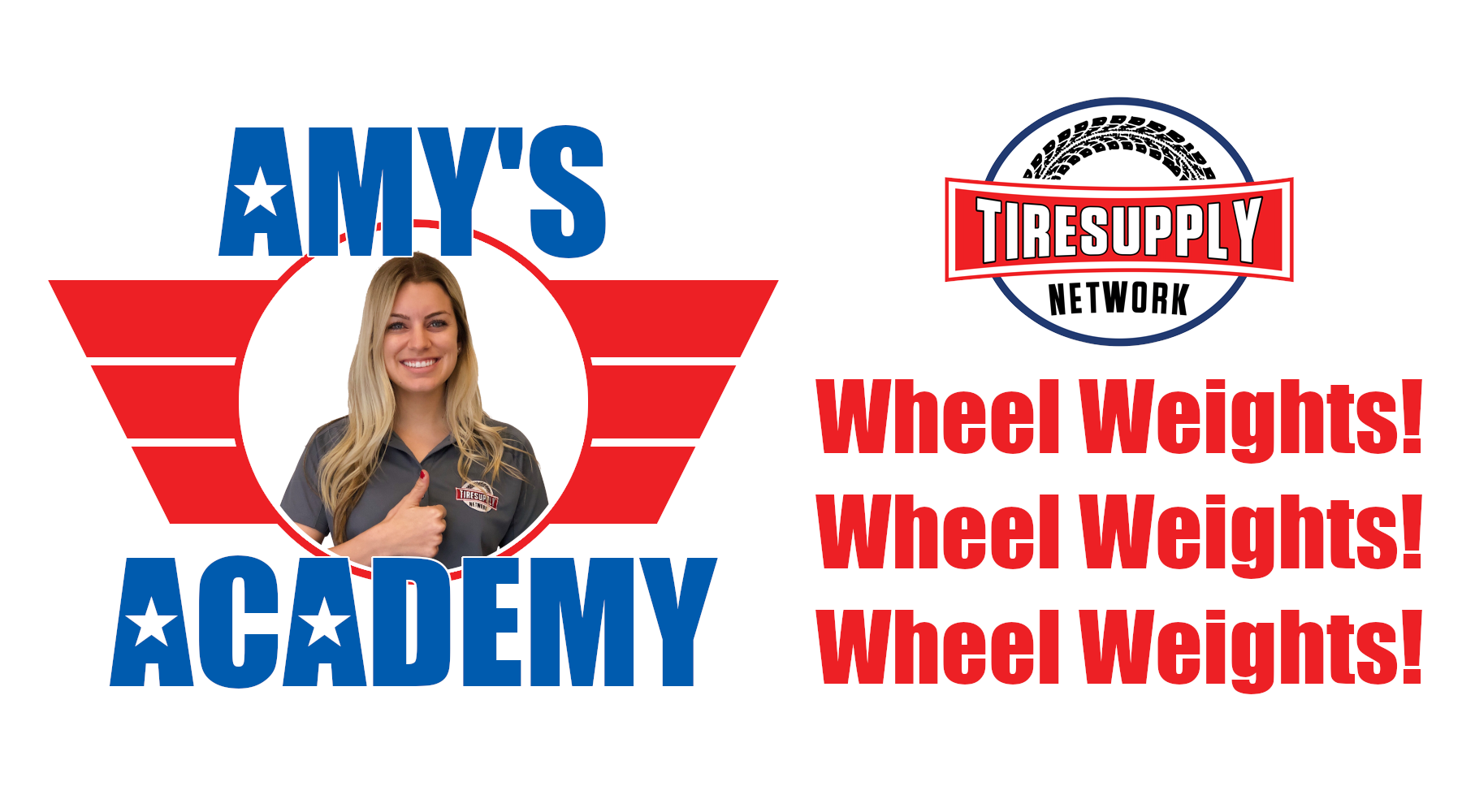 Amy's Academy | Check out our full selection of Wheel Weights!