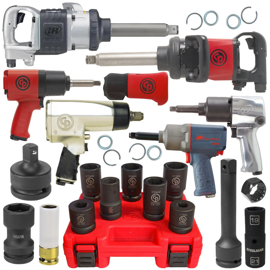 Impact Wrenches & Sockets