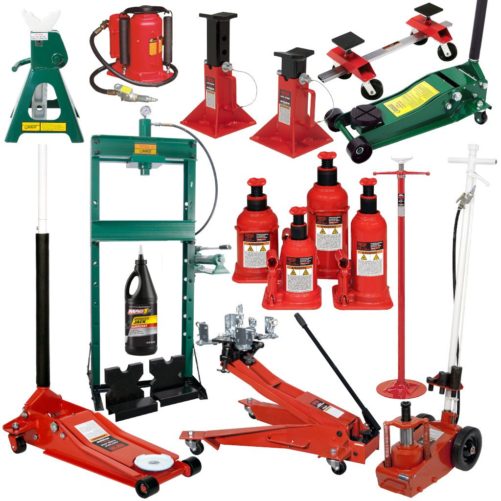 Hydraulic Jacks, Stands, & More