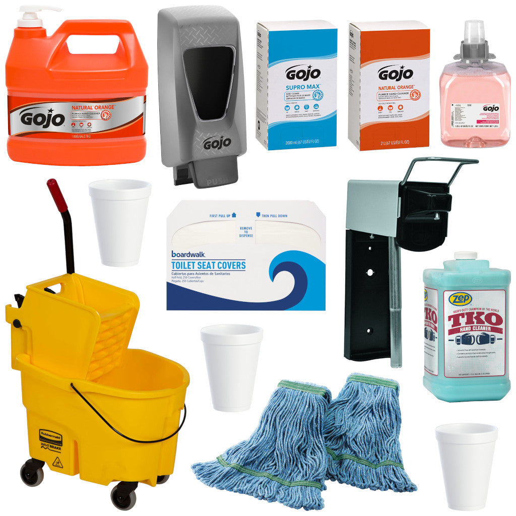 Hand Soap & Janitorial Supplies