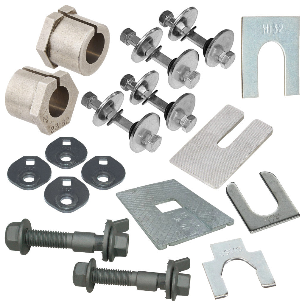 Camber/Caster Sleeves, Bolts, & Shims