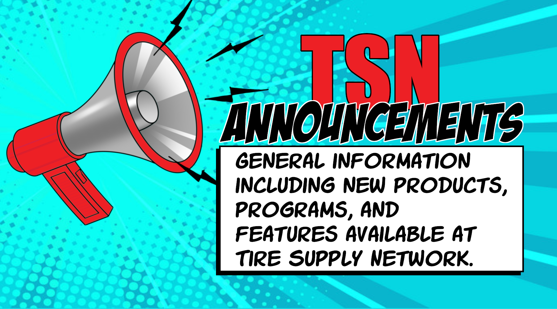 TSN-announcements-information-new-products-programs-features-tire-supplies-tire-repair-tire-supplier-valve-stems-wheel-weights-tire-patches