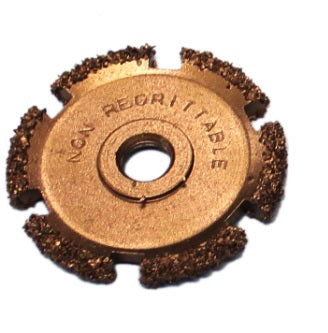"3/8"" SAE AH 16 Grit Buffing Wheel"
