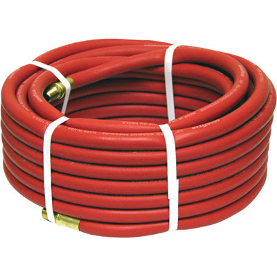 "Continental Industrial Air Hose (1/2"" x 25') 1/2"" MNPT"