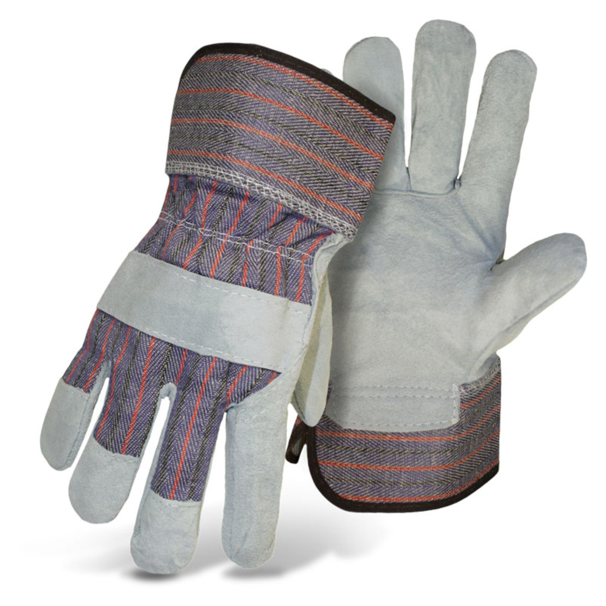 Boss Spilt Leather Palm Gloves (L) (1JL9920) - Pair