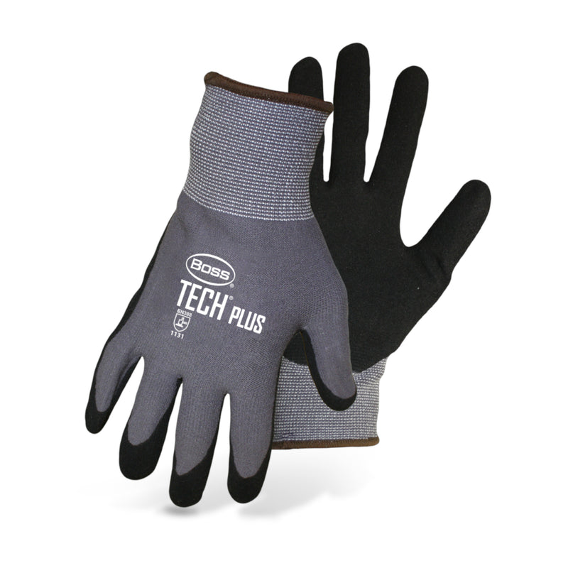 Boss Tech Plus Dipped Nitrile/Poly Gloves (1UH7830)