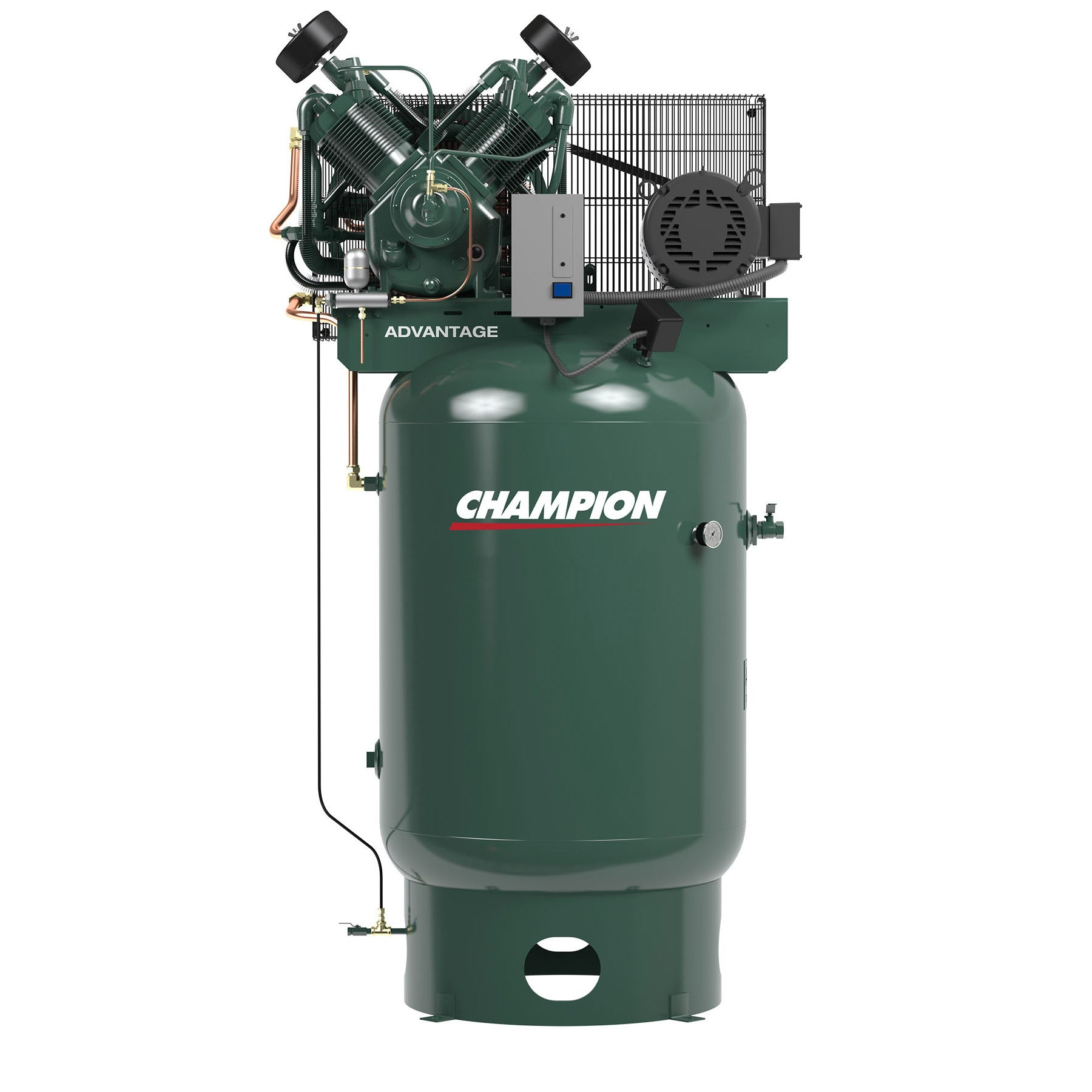 Champion VR10-12 Air Compressor Fully Equipped (230V, 3PH, 10HP, 120GL)