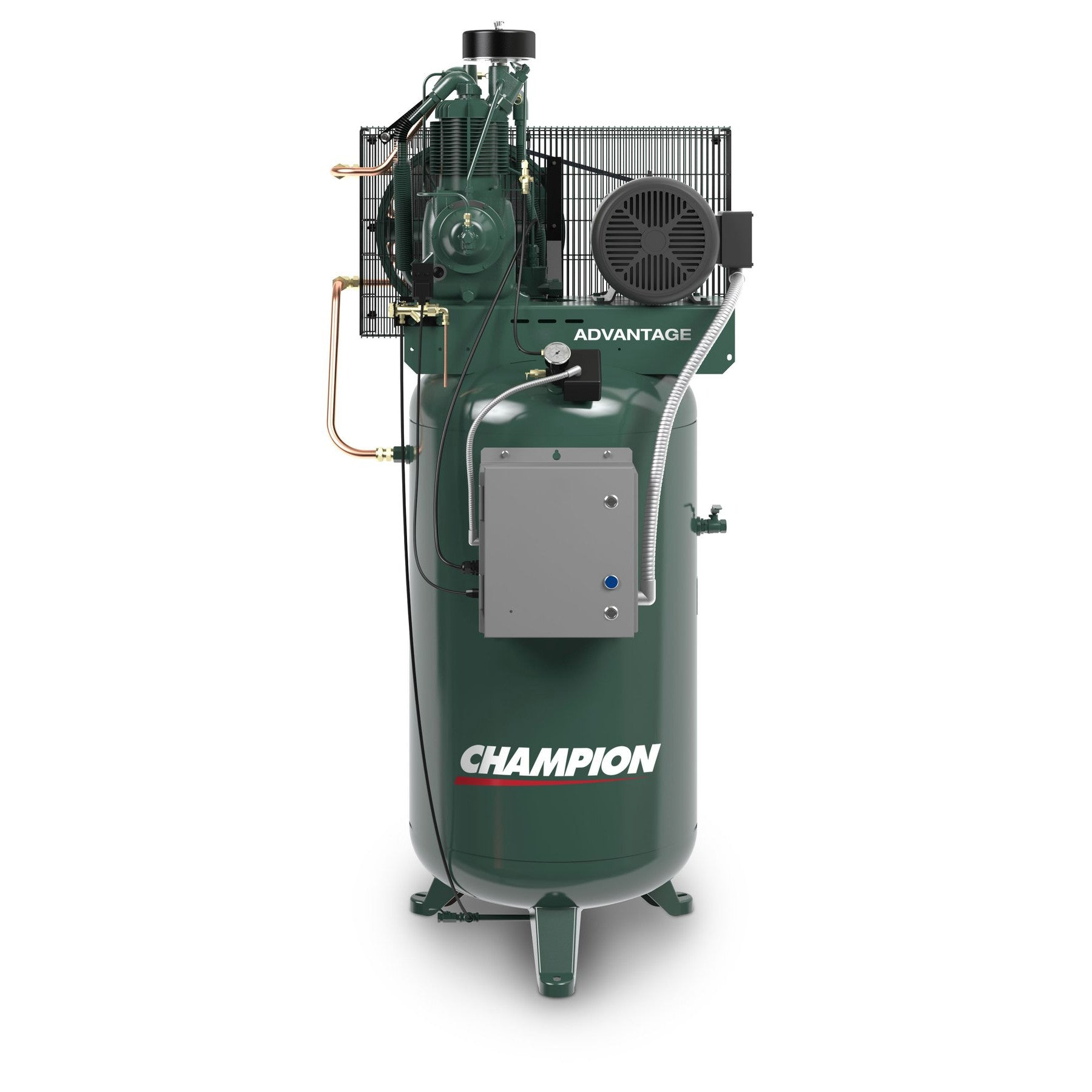 Champion VR5-8 Air Compressor Fully Equipped (230V, 1PH, 5HP, 80GL)