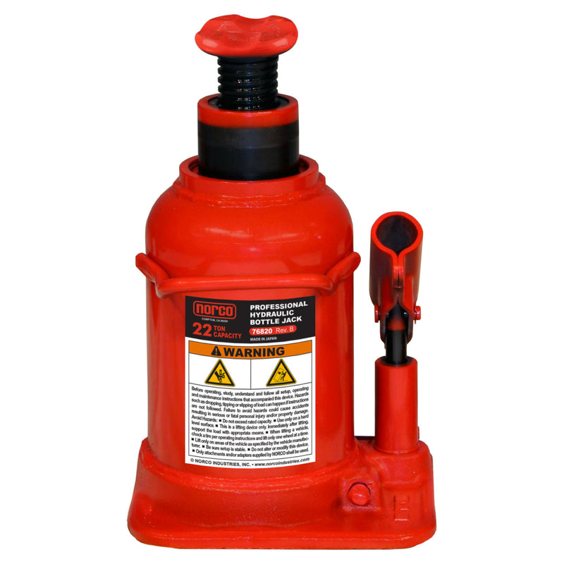 Norco Bottle Jack Short 22 Ton (76820B)