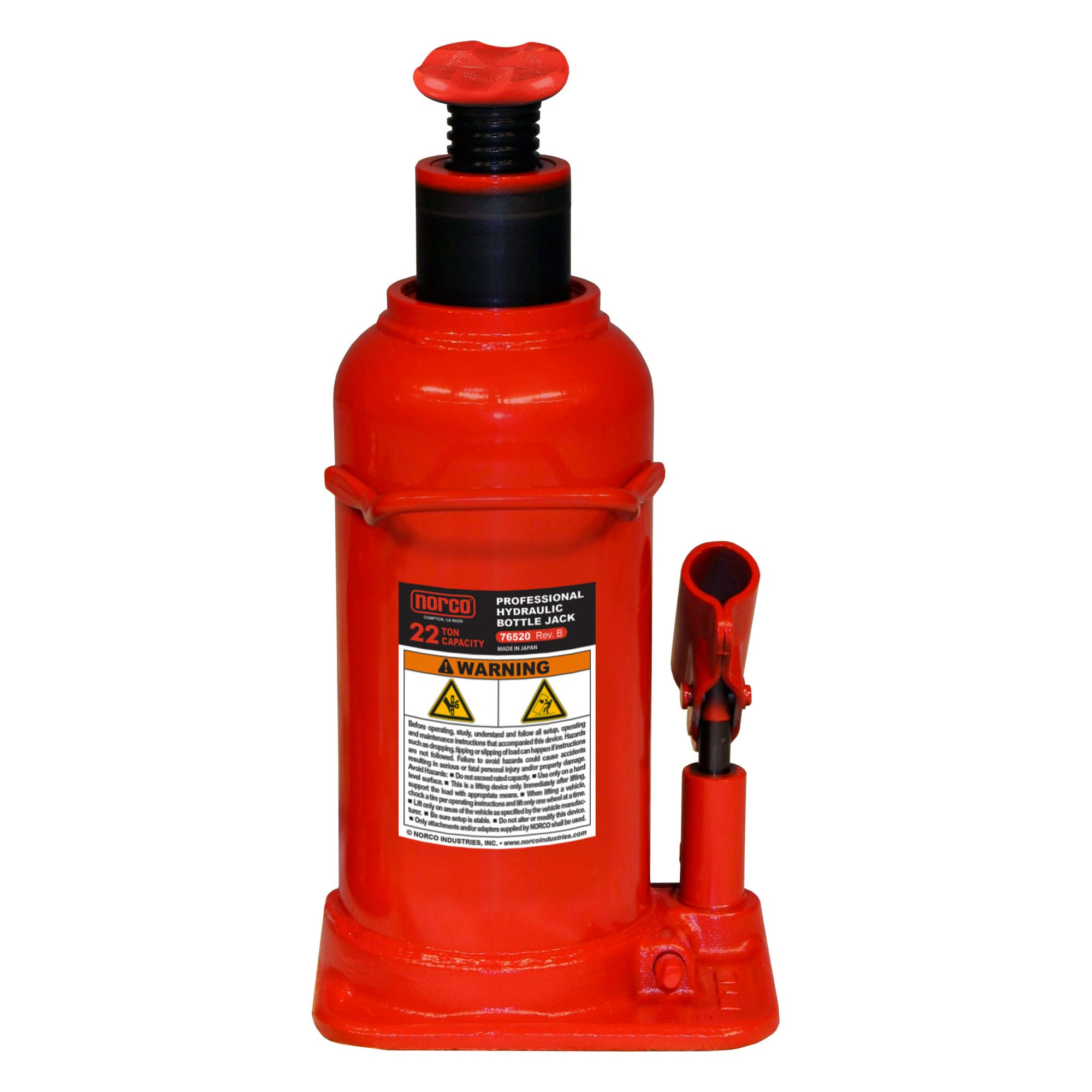 Norco Bottle Jack Tall 22 Ton (76520B)